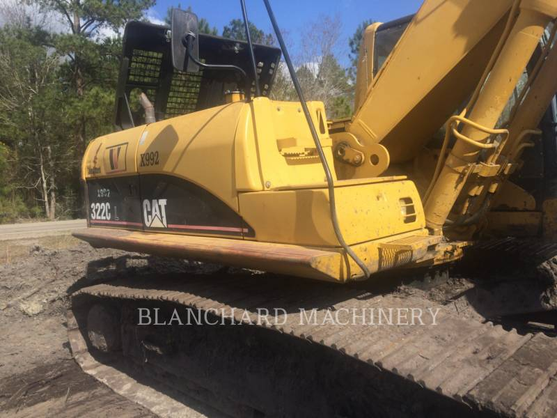 CATERPILLAR TRACK EXCAVATORS 322CL equipment  photo 5