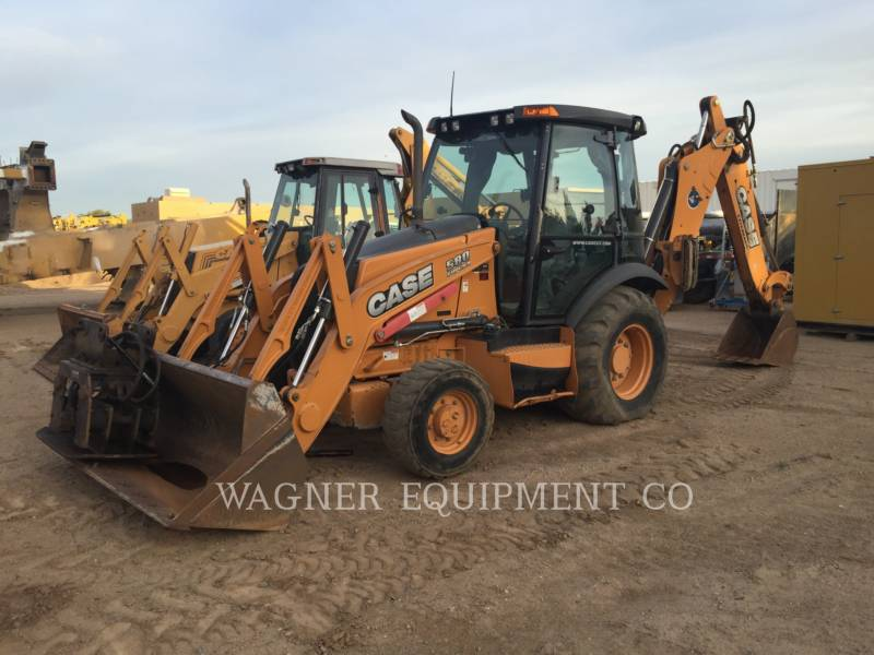CASE CHARGEUSES-PELLETEUSES 580SUPERN equipment  photo 1