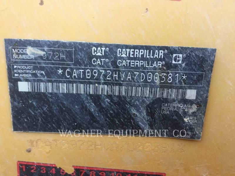 CATERPILLAR RADLADER/INDUSTRIE-RADLADER 972H equipment  photo 5