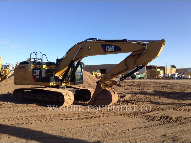 CATERPILLAR KETTEN-HYDRAULIKBAGGER 329EL TC equipment  photo 2