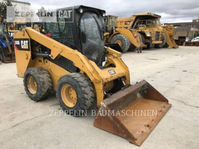 CATERPILLAR CHARGEURS COMPACTS RIGIDES 246 equipment  photo 5