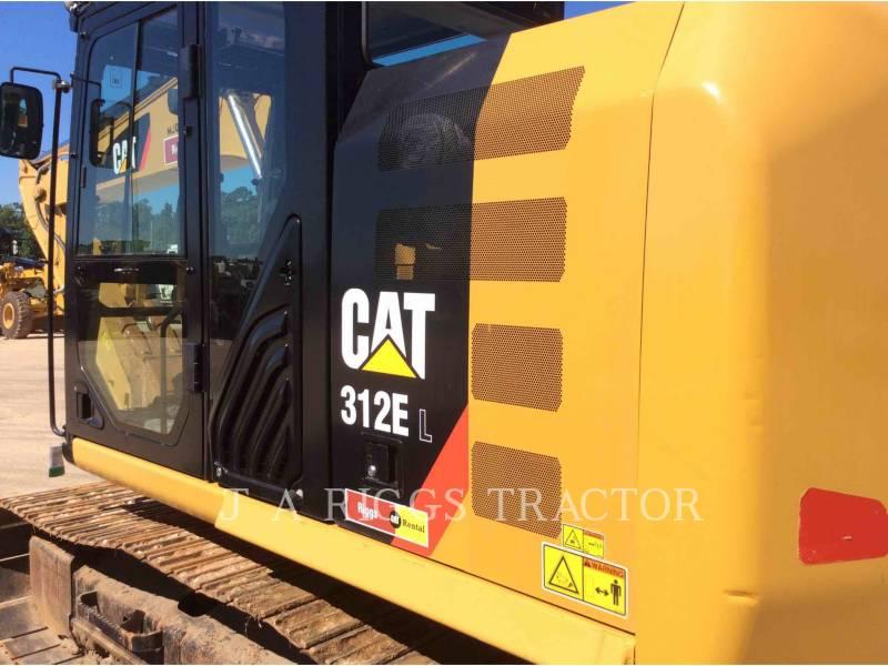 CATERPILLAR TRACK EXCAVATORS 312E 9 equipment  photo 20