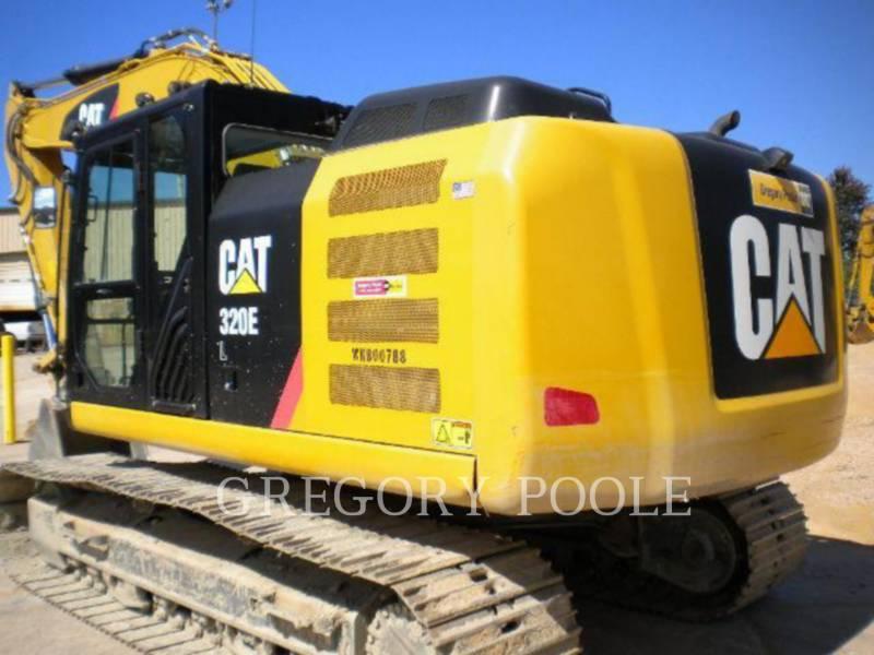 CATERPILLAR TRACK EXCAVATORS 320E/HYD equipment  photo 2