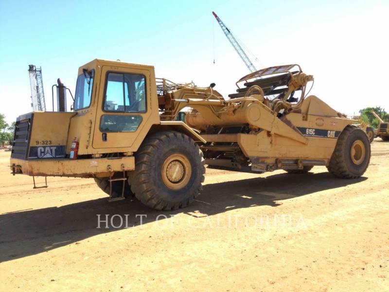 CATERPILLAR MOTOESCREPAS 615CII equipment  photo 1
