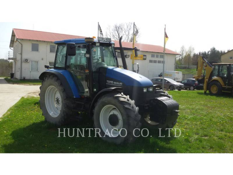 NEW HOLLAND LTD. TRACTORES AGRÍCOLAS TS115 equipment  photo 4
