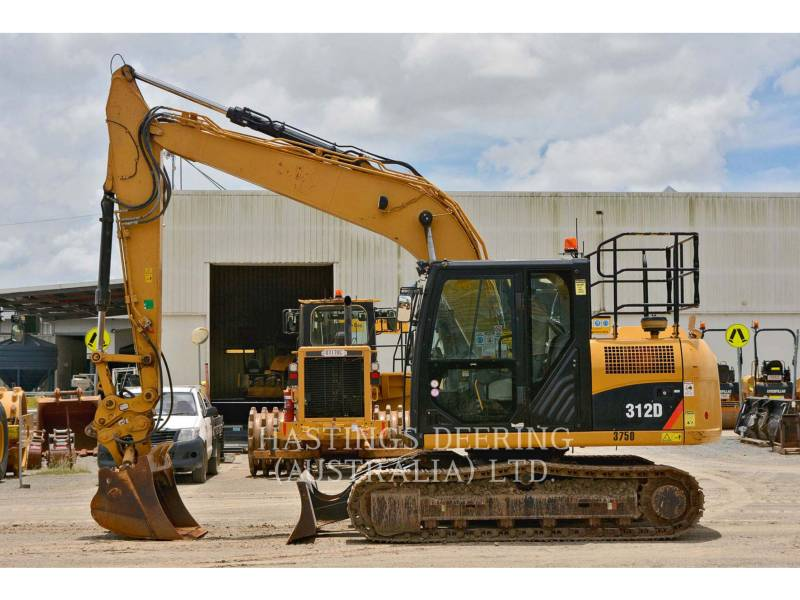 CATERPILLAR KETTEN-HYDRAULIKBAGGER 312D equipment  photo 4