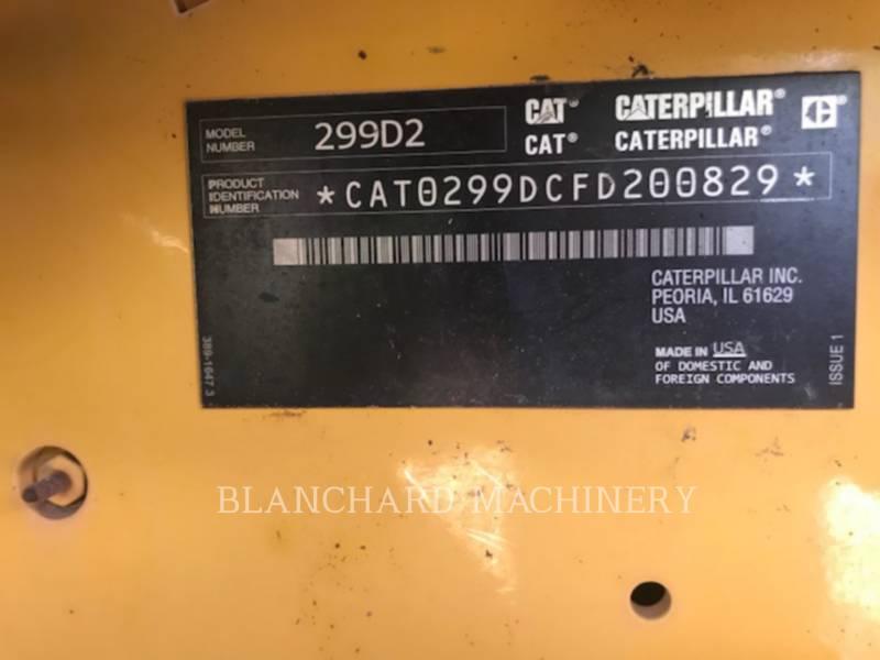 Caterpillar ÎNCĂRCĂTOARE PENTRU TEREN ACCIDENTAT 299D2 AH2 equipment  photo 6