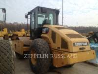 Equipment photo CATERPILLAR CS74 TRILLENDE ENKELE TROMMEL GLAD 1