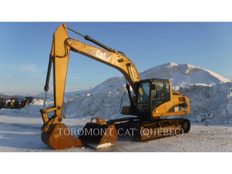 CATERPILLAR PELLES SUR CHAINES 315CL equipment  photo 1