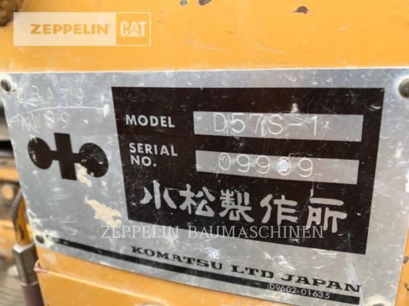 KOMATSU LTD. PALE CINGOLATE D57S-1 equipment  photo 2