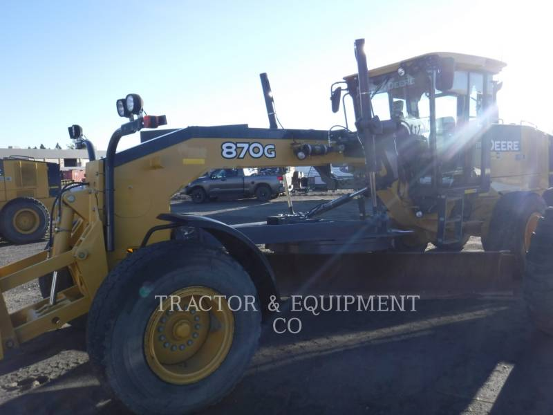 JOHN DEERE MOTORGRADER 870G equipment  photo 5
