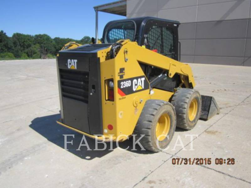 CATERPILLAR CHARGEURS COMPACTS RIGIDES 236D C3H4 equipment  photo 2