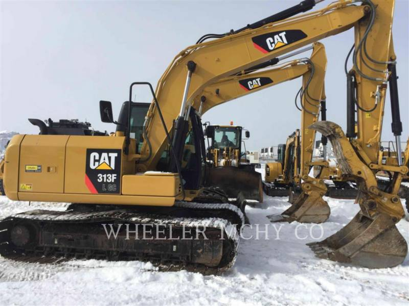 CATERPILLAR TRACK EXCAVATORS 313F GC TH equipment  photo 1