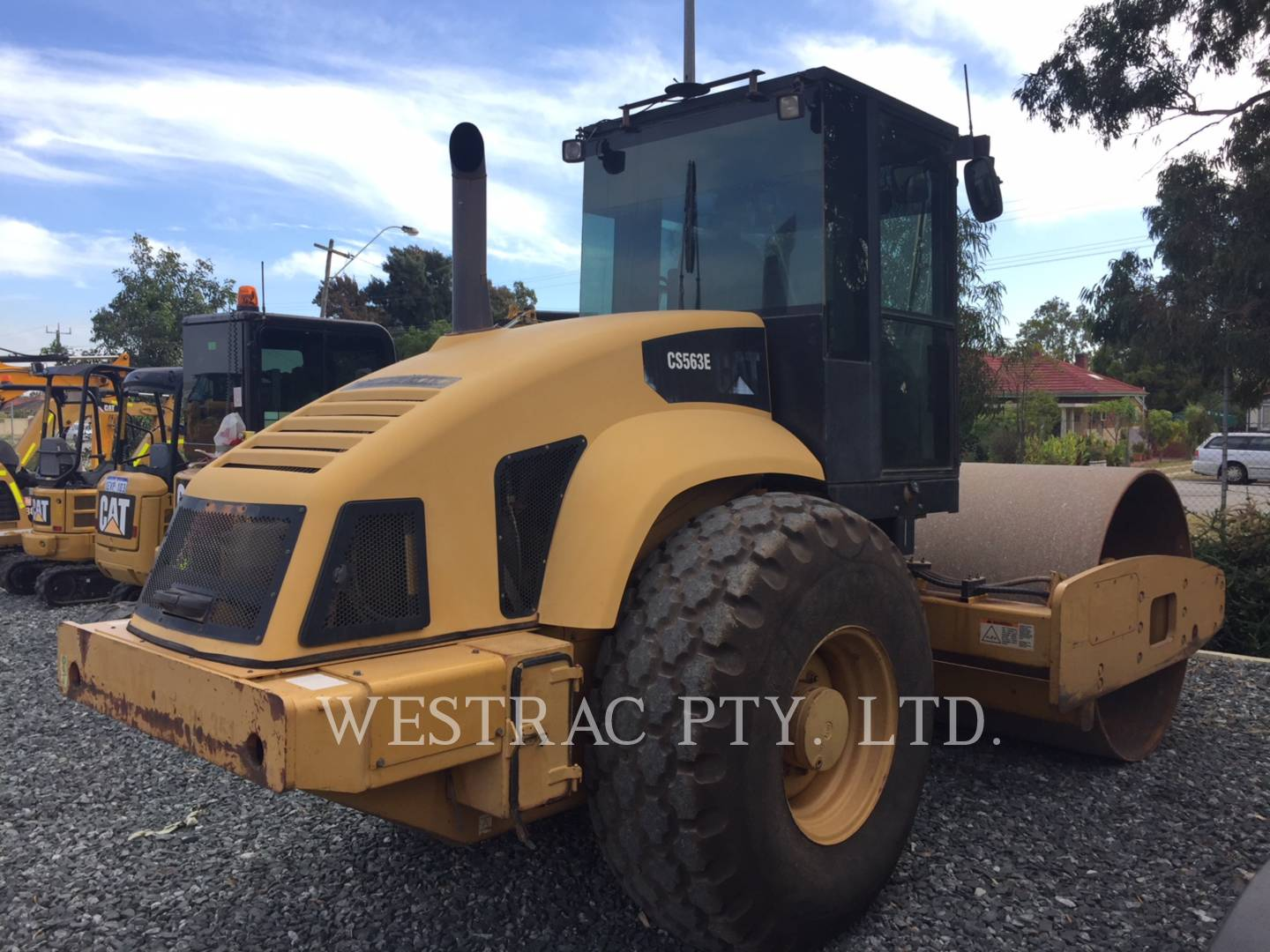 Used machinery cat used used equipment for sale westrac caterpillar cs 563e fandeluxe Images
