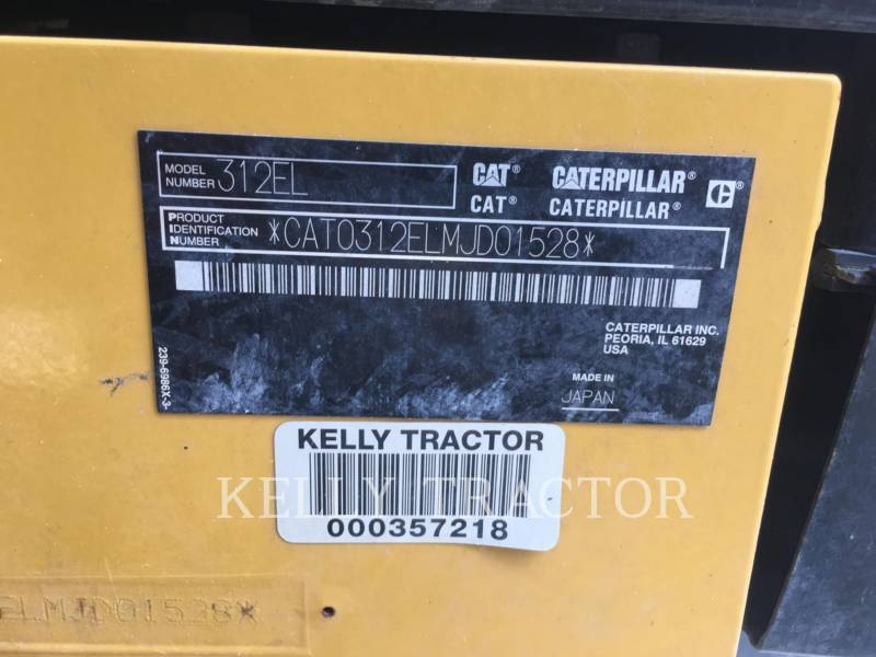 CATERPILLAR RUPSGRAAFMACHINES 312EL equipment  photo 19