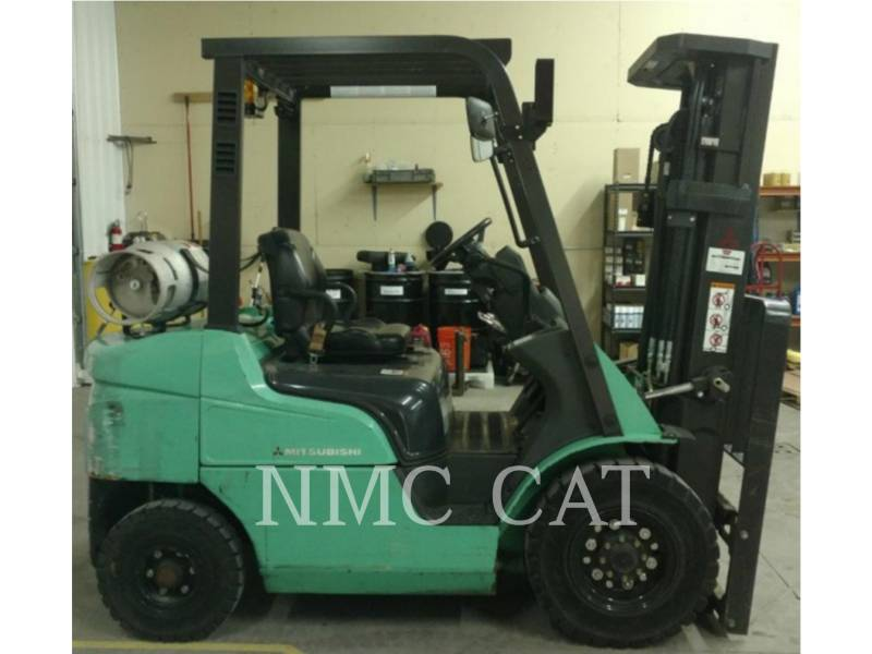 MITSUBISHI FORKLIFTS MONTACARGAS FG25N_MT equipment  photo 1
