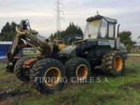 PONSSE FORESTRY - FELLER BUNCHERS - WHEEL ERGO HS16 equipment  photo 2