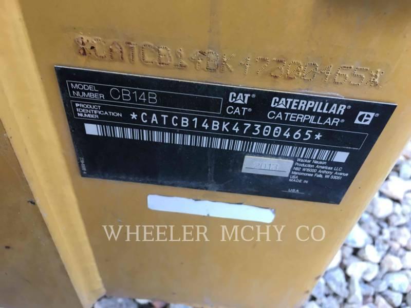 Caterpillar BETONIERE DE ASFALT CB14B equipment  photo 2