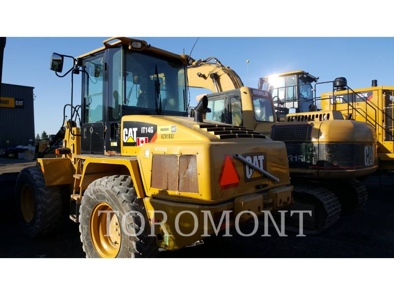 CATERPILLAR WHEEL LOADERS/INTEGRATED TOOLCARRIERS IT 14 G equipment  photo 3