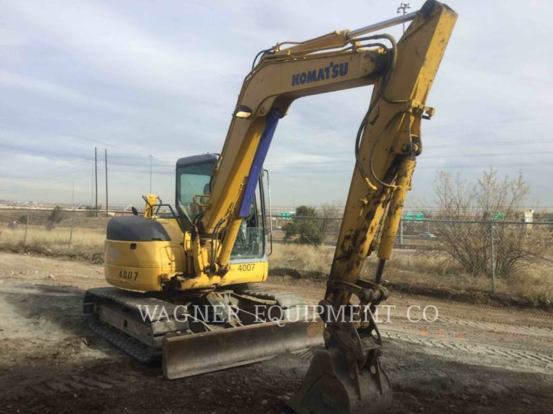 KOMATSU EXCAVADORAS DE CADENAS PC78MR-6 equipment  photo 4