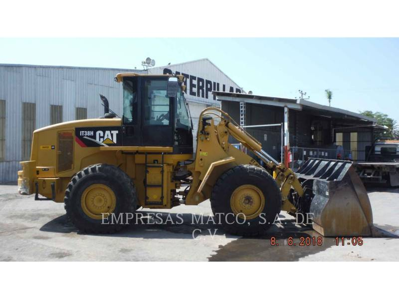 CATERPILLAR CHARGEURS SUR PNEUS/CHARGEURS INDUSTRIELS IT38H equipment  photo 1