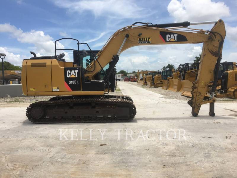 CATERPILLAR TRACK EXCAVATORS 318EL equipment  photo 14