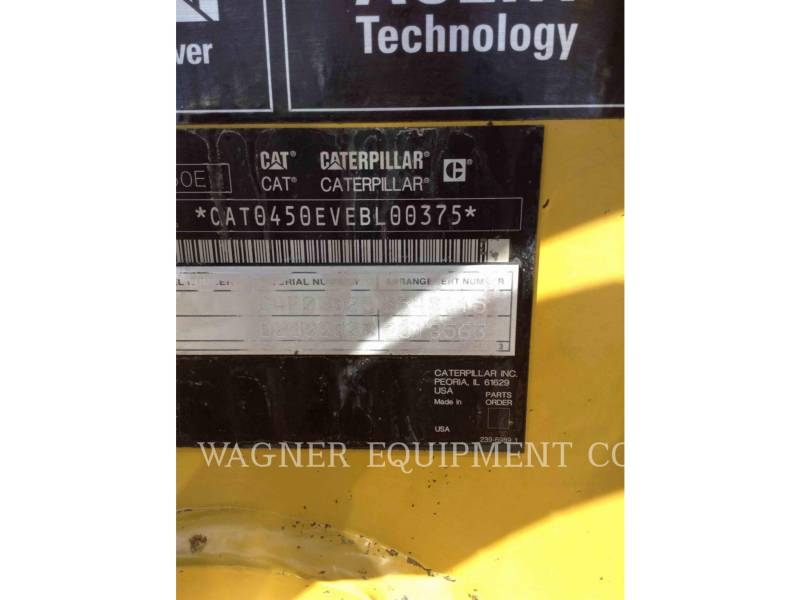 Caterpillar BULDOEXCAVATOARE 450E 4WDE equipment  photo 10