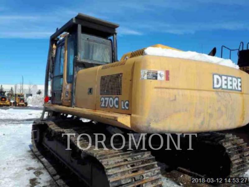 DEERE & CO. TRACK EXCAVATORS 270C equipment  photo 3