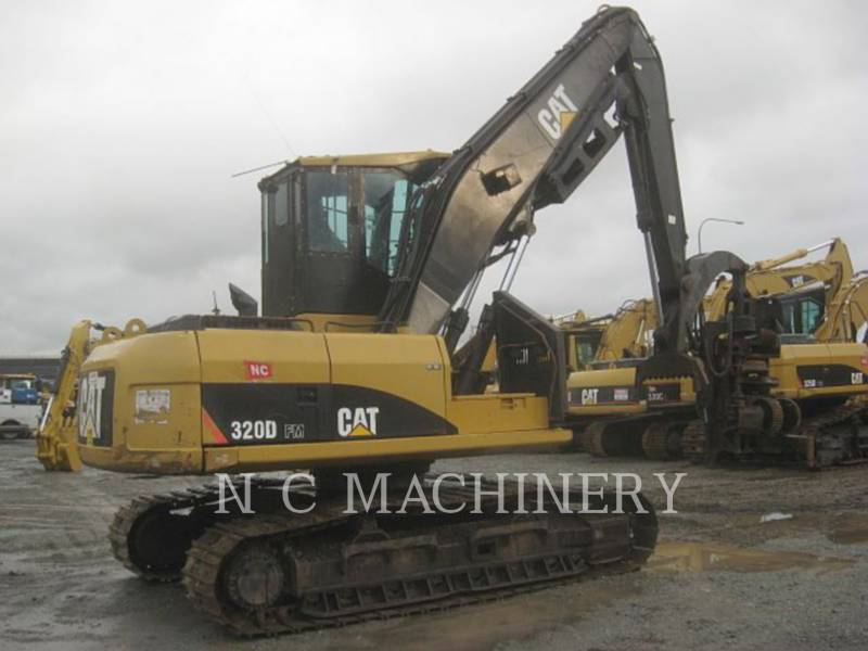 CATERPILLAR TRACK EXCAVATORS 320D FM equipment  photo 3