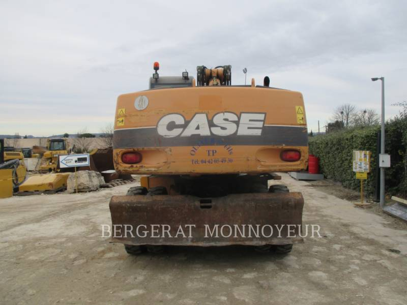CASE PELLES SUR PNEUS WX210 equipment  photo 2