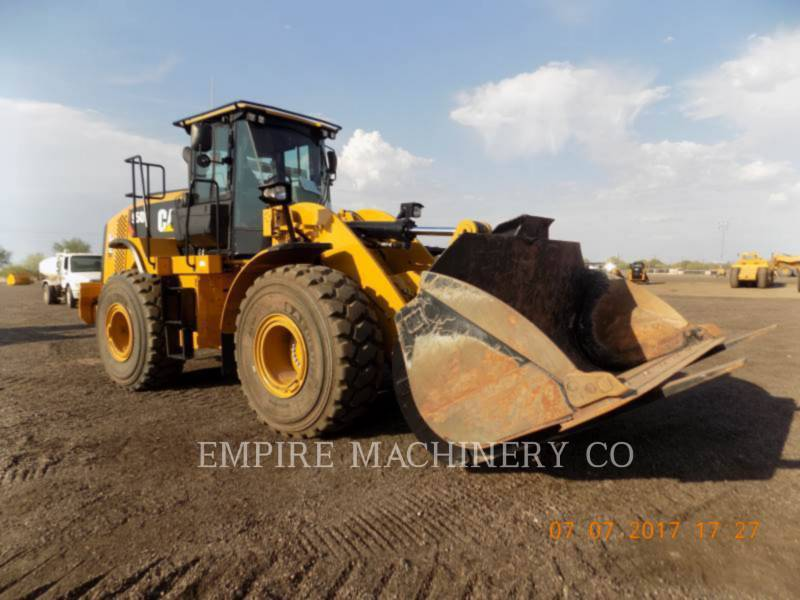 Caterpillar ÎNCĂRCĂTOARE PE ROŢI/PORTSCULE INTEGRATE 950K FC equipment  photo 1