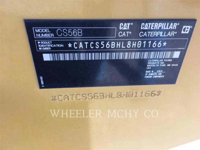 Caterpillar TAMBUR SIMPLU VIBRATOR NETED CS56B equipment  photo 6