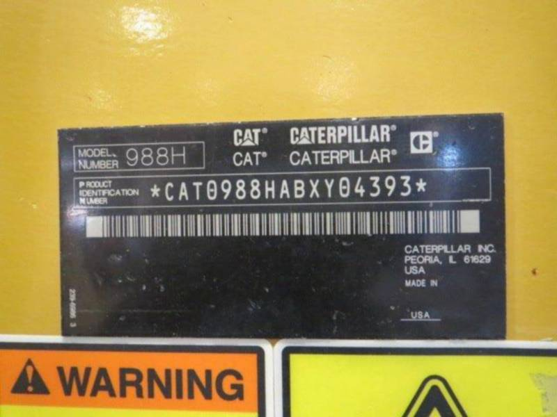 CATERPILLAR RADLADER/INDUSTRIE-RADLADER 988H equipment  photo 20
