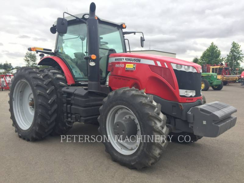 AGCO-MASSEY FERGUSON TRACTORES AGRÍCOLAS MF8650 equipment  photo 5
