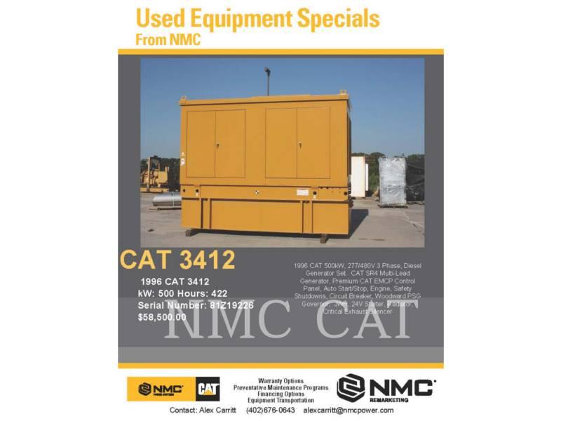 CATERPILLAR 固定式発電装置 3412 equipment  photo 5