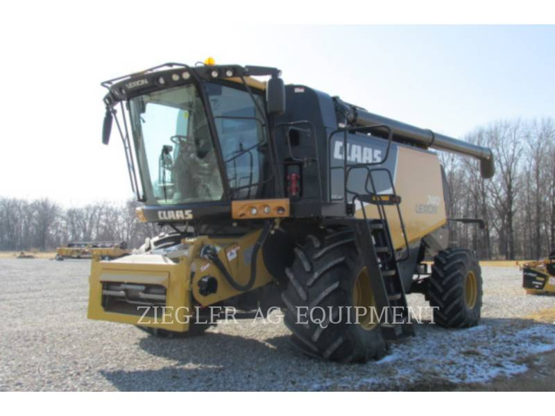 LEXION COMBINE COMBINADOS 740 equipment  photo 1
