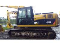 CATERPILLAR TRACK EXCAVATORS 320 D L equipment  photo 2