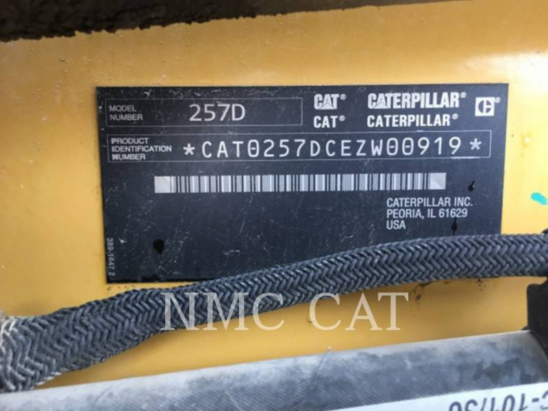 CATERPILLAR CARGADORES MULTITERRENO 257D equipment  photo 6