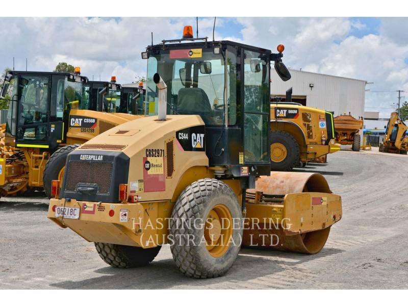 CATERPILLAR WALEC DO GRUNTU, GŁADKI CS44 equipment  photo 4