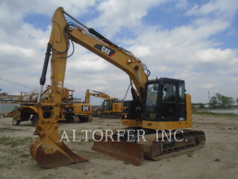 CATERPILLAR TRACK EXCAVATORS 314EL CR equipment  photo 1
