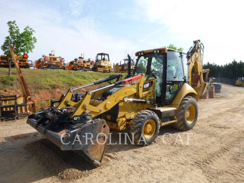 CATERPILLAR BAGGERLADER 420F ITCBE equipment  photo 3