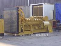 CATERPILLAR STATIONARY GENERATOR SETS 3516, 1400KW 4160 VOLTS equipment  photo 1