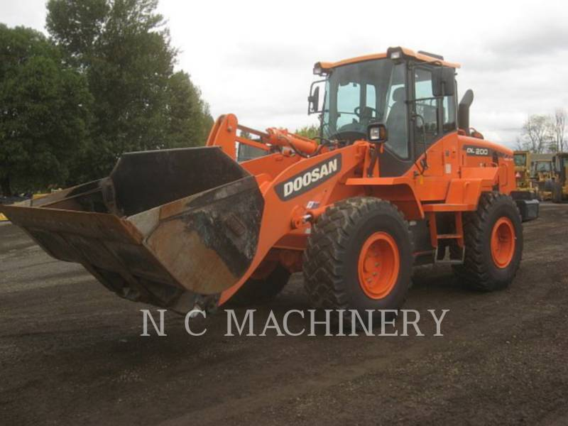 DOOSAN INFRACORE AMERICA CORP. RADLADER/INDUSTRIE-RADLADER DL200-3 equipment  photo 1