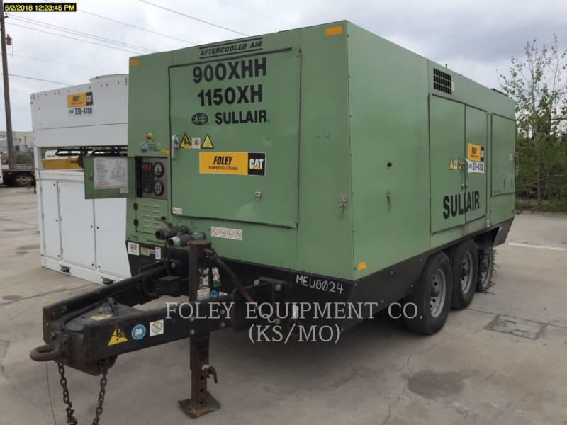 SULLAIR COMPRESSEUR A AIR (OBS) 1150XHA900 equipment  photo 1