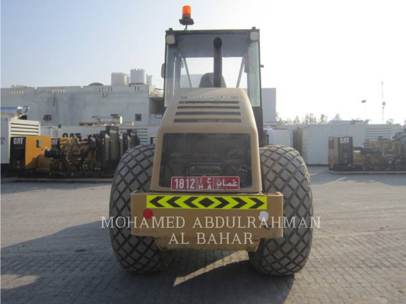 CATERPILLAR EINZELVIBRATIONSWALZE, GLATTBANDAGE CS 533 E equipment  photo 4