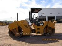 Equipment photo CATERPILLAR CB-534D TANDEMOWY WALEC WIBRACYJNY DO ASFALTU (STAL-STAL) 1