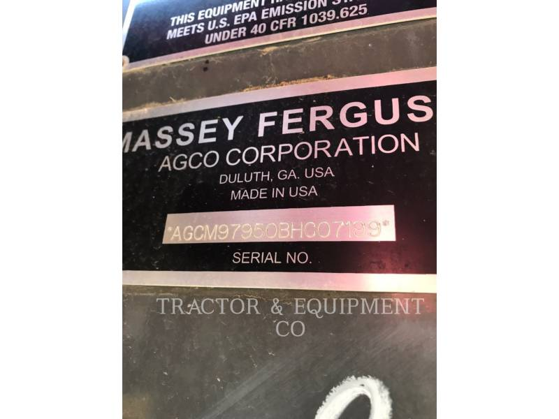 MASSEY FERGUSON COMBINES 9795 equipment  photo 16