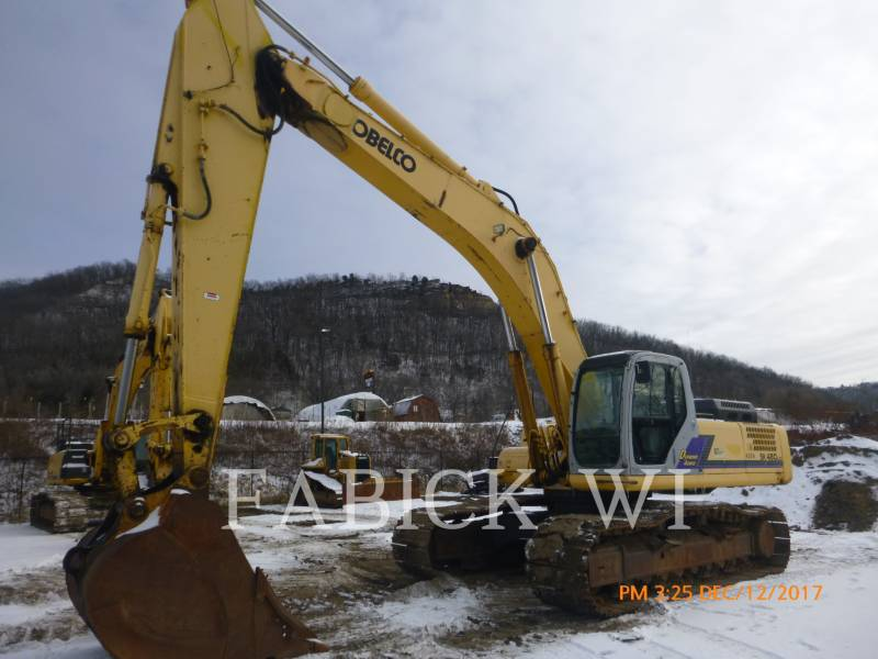 KOBELCO / KOBE STEEL LTD TRACK EXCAVATORS SK480 equipment  photo 1