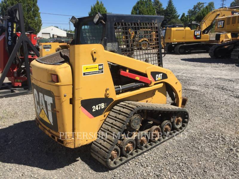CATERPILLAR CHARGEURS COMPACTS RIGIDES 247B2 equipment  photo 4