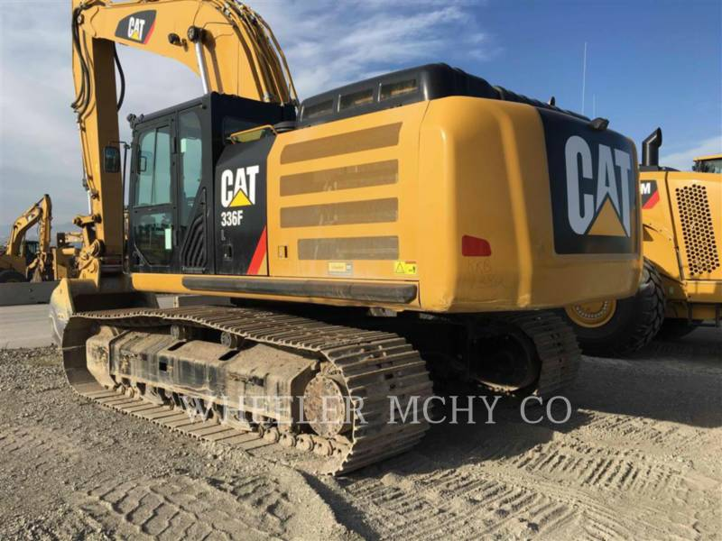 CATERPILLAR TRACK EXCAVATORS 336F L CF equipment  photo 4